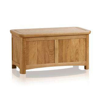 Wiltshire Natural Solid Oak Blanket Box