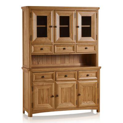 Wiltshire Natural Solid Oak Large Dresser