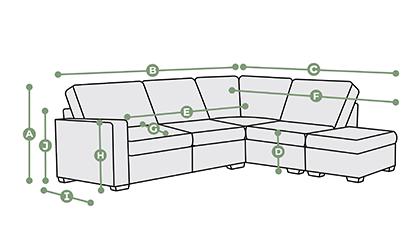 Corner dimensions