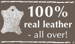 100% Leather