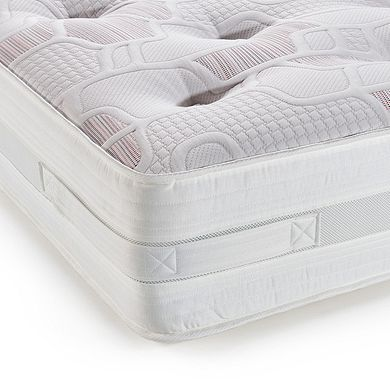 Malmesbury Pocket Spring Double Mattress Oak Furniture Land
