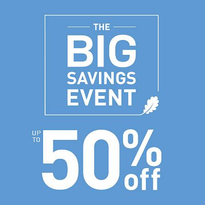 The Big Savings Event
