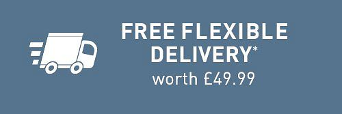 Free flexible delivery