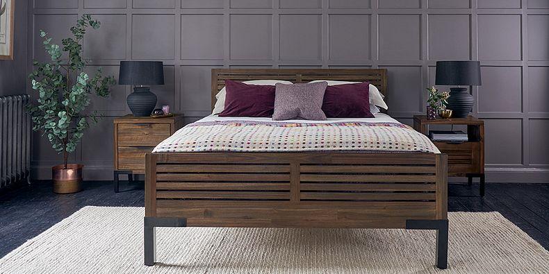 Beds Wooden Oak Bed Frames Oak Furnitureland