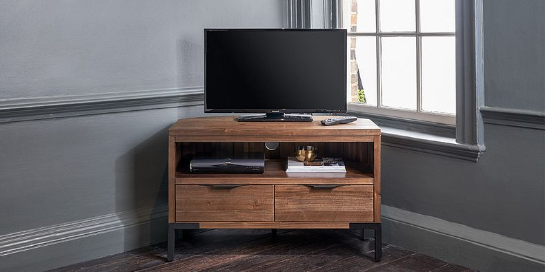 Oak Tv Units Wood Tv Stands Cabinets Oak Furnitureland