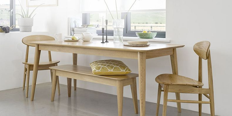 Oak Dining Tables Wood Dining Tables Oak Furnitureland