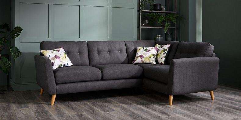 Grey Corner Sofas