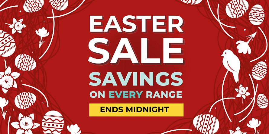 Easter Sale Ends Midnight