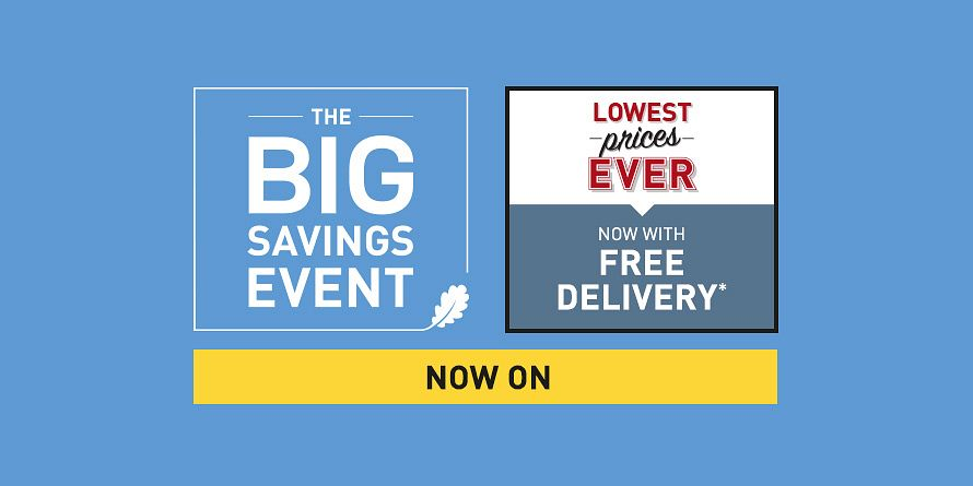 Takeover - The Big Savings Event / Up to 50% off