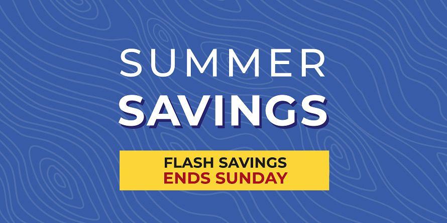 Summer Savings Flash Sale