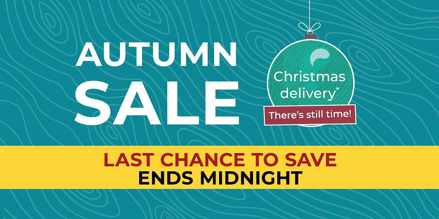 END OF AUTUMN SALE TAKEOVER SLIDE - Last chance to save