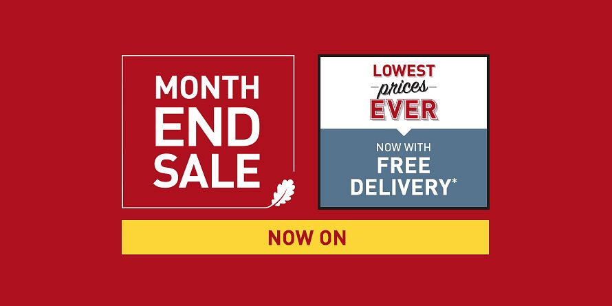 Takeover - Month End Sale / LPE + Free delivery