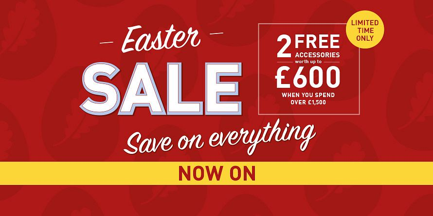 Takeover - Easter Sale / 2 Free accessories